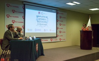 Consigna organizó el Conversatorio: «Conflicto de Interés y Educación Ciudadana»