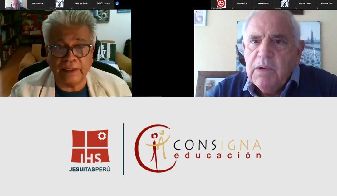 Consigna organizó el conversatorio virtual: «Sociedad y Educación: cambios y reflexiones que nos plantea la pandemia COVID-19»