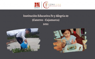 Experiencia educativa del colegio Fe y Alegría 69 (Cutervo – Cajamarca)