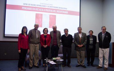 Consigna organizó el conversatorio: «Entre los valores republicanos y las instituciones republicanas»