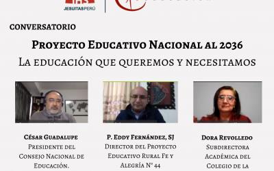 Consigna organizó el conversatorio: «Proyecto Educativo Nacional al 2036. La educación que queremos y necesitamos»